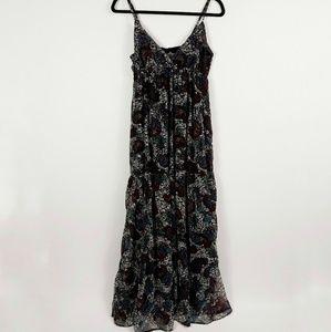 Angie Boho Maxi Dress Paisley Print
